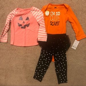 Halloween bundle - top + matching set